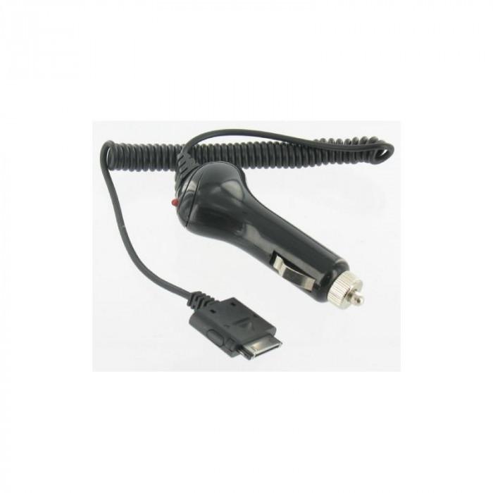 Incarcator auto iPhone 3G/3GS/4, de culoare neagra foto mare