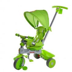 Tricicleta 4 in 1 Lion Green Baby Trike - Tricicleta copii