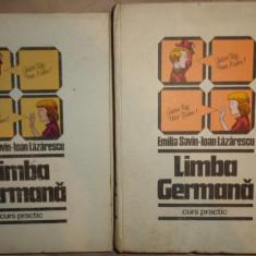Limba germana curs practic 880pag/an 1982 - Emilia Savin, Ioan Lazarescu - Curs Limba Germana