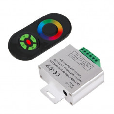 RF Touch Controller and Remote Black for RGB LEDst