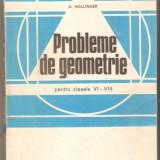 A.Hollinger-Probleme de geometrie clasele VI-VIII - Culegere Matematica