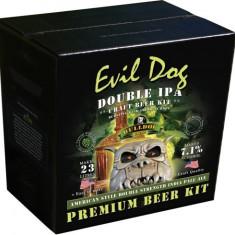 Bulldog Evil Dog Double IPA - kit pentru bere de casa 23 litri. Bere IPA, Blonda