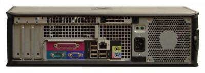 Calculator Dell Optiplex 380 Desktop, Intel Pentium Dual Core E5300 2.6 GHz, 2 GB DDR3, 80 GB SATA, Lipsa Capac Optic foto