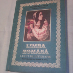 MANUAL LIMBA ROMANA CLASA VIII DUMITRU SAVULESCU EDITURA DIDACTICA 1993 - Manual scolar, Clasa 8, Didactica si Pedagogica