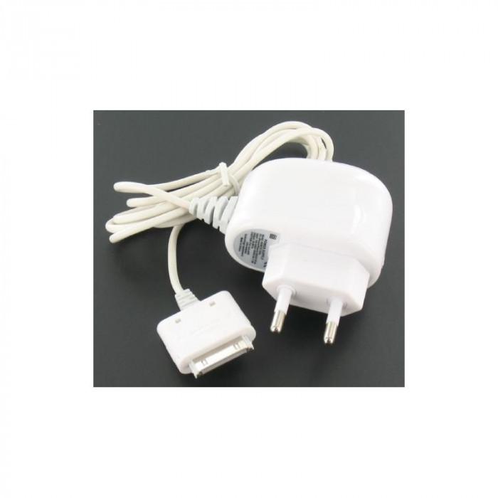 Încărcător AC pentru iPhone 3G, de culoare alba YA foto mare