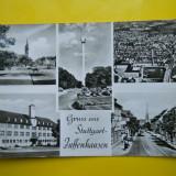 HOPCT 33592 STUTTGART ZUFFENHAUSEN IN 1965 -GERMANIA -STAMPILOGRAFIE-CIRCULATA, Printata