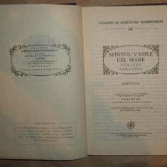 Sfantul Vasile cel Mare Scrieri partea a doua PSB 18 /an 1989/570pag
