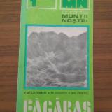 Colectia Muntii Nostri nr. 1 - Fagaras cu harta