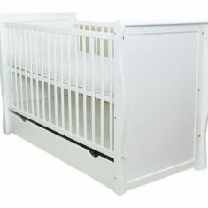 Patut multifunctional Regal White Mamo-Tato - Patut lemn pentru bebelusi