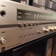 Amplificator/Tuner Stereo, marca DUAL model CR1710 - 50 Watt/Vintage/RFG - Amplificator audio Dual, 41-80W