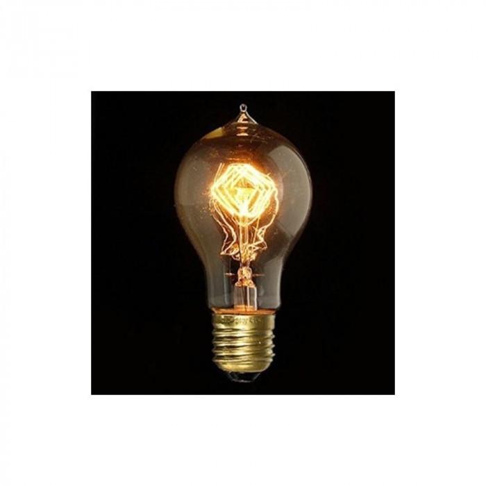 Edison Line Vintage 40W E27 Bec Decorativ A19-A AL foto mare