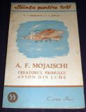 Mojaischi creatorul primului avion din lume, Stiinta pentru toti, Cartea Rusa, Alta editura