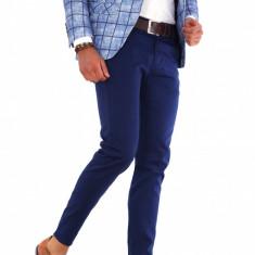 Pantaloni albastri eleganti - pantaloni barbati - 9291 B, Marime: 30, 31, 32, 33, Culoare: Din imagine