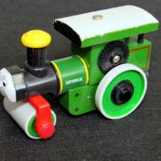 Thomas and Friends ✯ Rare Wooden Railway ✯ GEORGE ✯ Magnetic Vehicle ✯ 2003 - Trenulet, Locomotive
