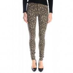 Pantaloni Lungi Only Onldina Leo Pumice Stone Regular Fit - Pantaloni dama Only, Marime: 38, Culoare: Maro