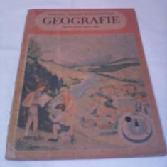 MANUAL GEOGRAFIE CLASA III M.PENES/V.MIRZA EDITURA DIDACTICA 1988, Clasa 3, Didactica si Pedagogica