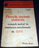 Planurile cincinale staliniste - exemplu maret in RPR, Cartea Rusa 1951, Alta editura