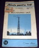 Radio si aplicatiunile sale, Stiinta pentru toti, Cartea Rusa 1951, ilustratii, Alta editura