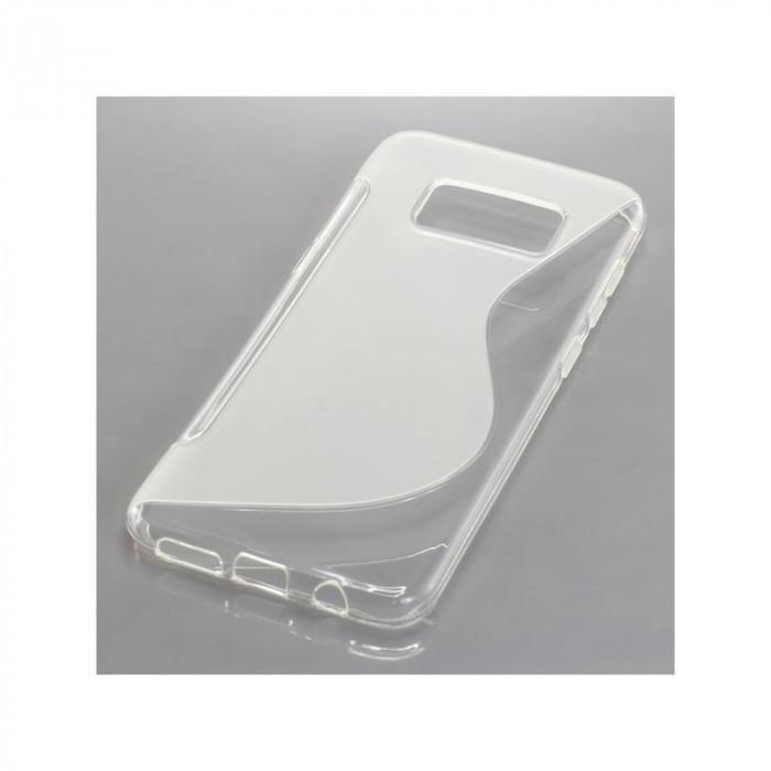 TPU Case pentru Samsung Galaxy S8 transparent foto mare