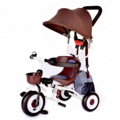 Tricicleta pliabila Plika Coffee Skutt - Tricicleta copii