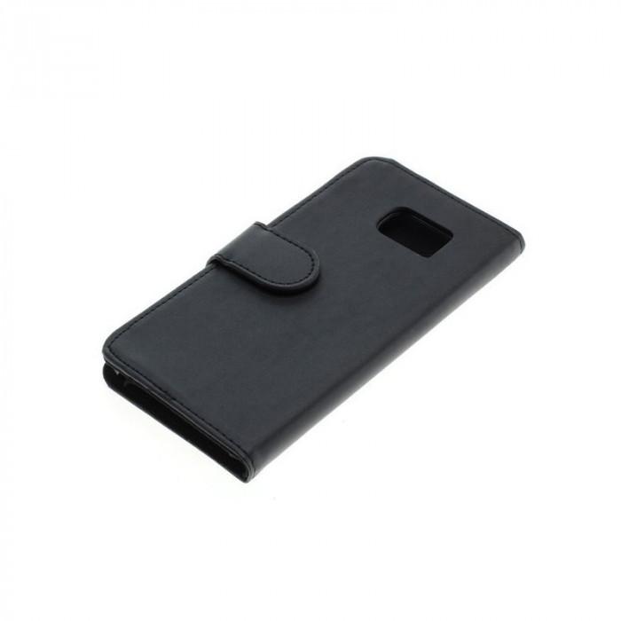 Bookstyle Case pentru Samsung Galaxy S7 Edge Culoare Negru foto mare
