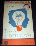 Tara electricitatii, Stiinta pentru toti, Cartea Rusa 1949, ilustratii, Alta editura