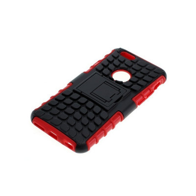 Husa antisoc pentru iPhone 6 / iPhone 6S negru-ros foto