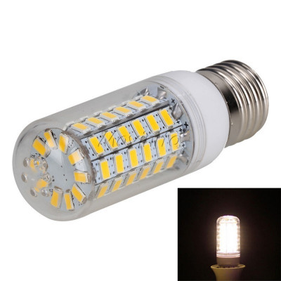 18W E27 Warm White 56 LED`s SMD5730 Corn Bulb AL11 foto