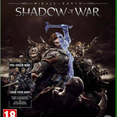 Joc consola Warner Bros Entertainment MIDDLE EARTH SHADOW OF WAR XBOX ONE