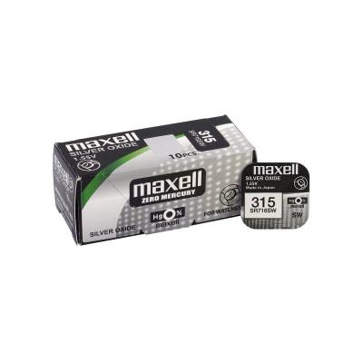 Maxell 315 / 314 / SR 716 SW baterie plata foto