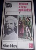 Carte Un yancheu la curtea regelui Arthur,Mark Twain,1986,transport GRATUIT,NOUA