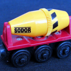 Thomas and Friends ✯ Wooden Railway ✯ CEMENT MIXER ✯ Magnetic Vagon ✯ 2003, Locomotive