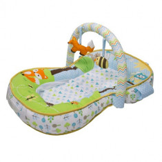 Salteluta de Activitati 3 in 1 Laid-Back Lounger - Jucarie interactiva Summer Infant