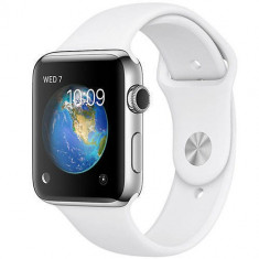 Smartwatch Apple Watch 2 Sport Silver Aluminium Case 42mm White Sport Band
