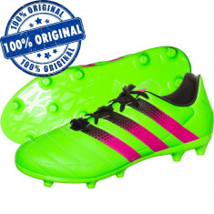 Pantofi sport Adidas Ace 16.3 Leather pentru barbati - ghete fotbal - originale, Marime: 42, 42 2/3, 43 1/3, 44 2/3, Culoare: Verde, Iarba: 1