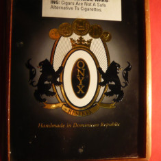 Cutie din lemn pt. trabucuri lux - ONYX- R.Dominicana , dim.=14x17x6cm