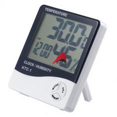 Ceas digital cu senzor de umiditate, termometru si alarma