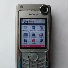 Nokia 6680 3G colectie merge si in DIGI an 2005 perfect functional - Telefon Nokia, Argintiu, Nu se aplica, Neblocat, Single SIM, Single core