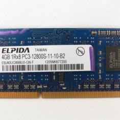Memorie RAM 4GB 1600Mhz DDR3 - Memorie RAM laptop Elpida