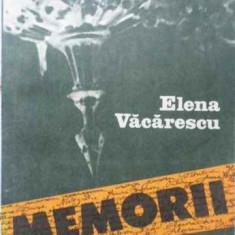 Memorii - Elena Vacarescu, 404554 - Biografie