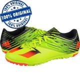 Pantofi sport Adidas Messi 15.3 pentru barbati - adidasi originali fotbal, 44, 44 2/3, Verde