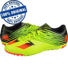 Pantofi sport Adidas Messi 15.3 pentru barbati - adidasi originali fotbal, 43 1/3, 44, 44 2/3, Verde