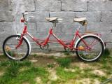 Bicicletă Pegas tandem, foarte rară, 1988