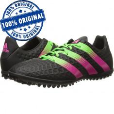 Pantofi sport Adidas Ace 16.3 pentru barbati - adidasi fotbal - originali - Ghete fotbal Adidas, Marime: 40, 43 1/3, 44, Culoare: Negru, Teren sintetic: 1