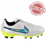 Ghete fotbal Nike Tiempo Genio Leather FG COD: 630861-174 - Produs original -NEW, 38.5, Barbati