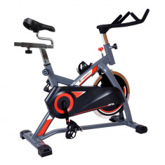 Bicicleta indoor cycling inSPORTline Jota/argintiu - Bicicleta fitness inSPORTline, Max. 130
