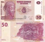 CONGO 50 francs 2013 UNC!!!