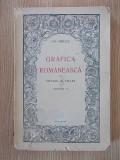 GRAFICA ROMANEASCA- GH OPRESCU, VOL II- 1945