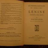 Lenine (Lenine the man) de Isaac don Levine Ed. Plon-Nourrit 1924 - Carte de colectie