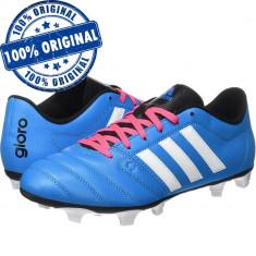 Pantofi sport Adidas Gloro 16.2 pentru barbati - ghete fotbal - originale, Marime: 42, 42 2/3, Culoare: Albastru, Iarba: 1